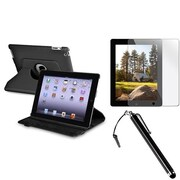 Insten® 1059583 3-Piece Tablet Case Bundle For Apple iPad 2/3/4