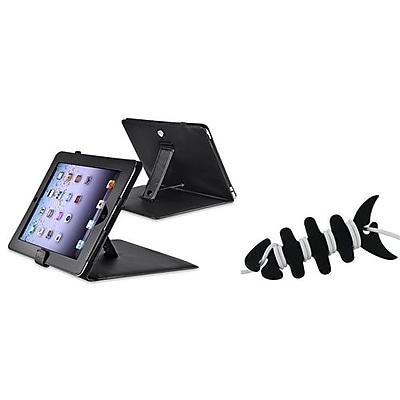 Insten® 1064898 2-Piece Tablet Headset Smart Wrap Bundle For Apple iPad