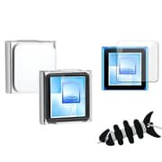 Insten® 1065028 3-Piece MP3 Case Bundle For Apple iPod Nano 6th Gen