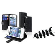 Insten 2 Piece iPhone Headset Smart Wrap Bundle For Apple iPhone 4 (1065701)