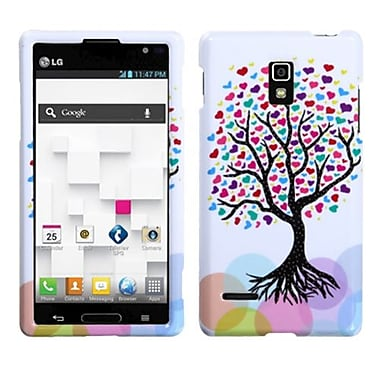 Insten® Protector Case For LG P769 Optimus L9, Love Tree