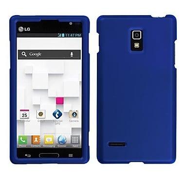Insten® Soft Protector Case For LG P769 Optimus L9, Titanium Solid Dark Blue