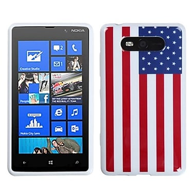 Insten® Candy Skin Cover For Nokia 820, United States National Flag