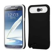 Insten® Rubberized Back Protector Covers With Card Wallet For Samsung Galaxy Note II