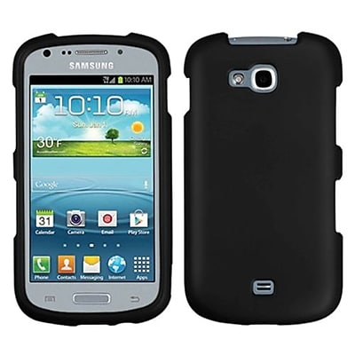 Insten® Phone Protector Case For Samsung R830 Galaxy Axiom, Black