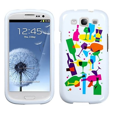 Insten® Phone Case For Samsung Galaxy SIII; Cosmopolitan Drinks Image