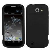 Insten® Skin Case For ZTE N9500 Flash, Solid Black