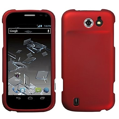 Insten® Protector Cover For ZTE N9500 Flash, Titanium Solid Red