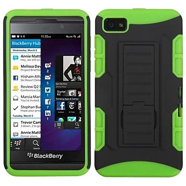 Insten® Rubberized Car Armor Stand Protector Cases For BlackBerry Z10