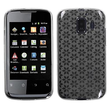 Insten® Candy Skin Cover For Huawei U8665 Fusion 2, Clear Hexagon