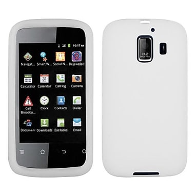 Insten® Solid Skin Cover For Huawei U8665 Fusion 2, Translucent White