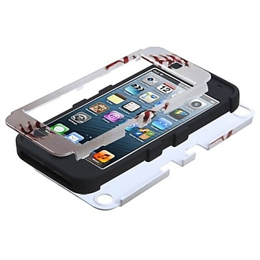 Insten® TUFF Hybrid Protector Cover F/iPod Touch 5th Gen, Baseball