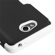 Insten® TUFF Hybrid Phone Protector Cover For LG MS870 Spirit 4G, Black/Solid White