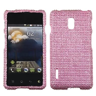 Insten® Diamante Protector Cover For LG US780, Pink
