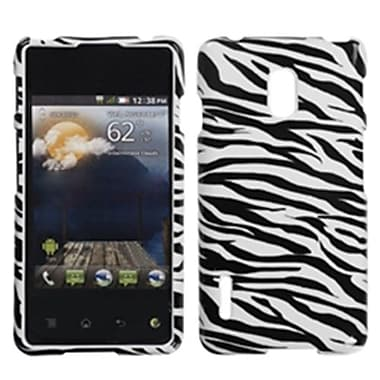 Insten® Protector Cover For LG US780 Optimus F7/LG870 Optimus F7, Zebra