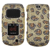 Insten® Diamante Protector Cover For Samsung A997 (RUGBY III); Leopard Skin/Camel