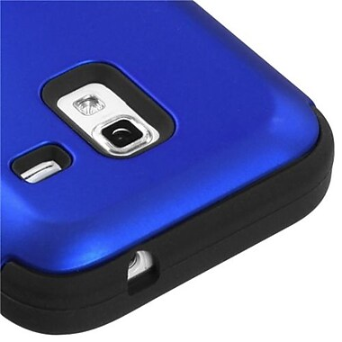 Insten® Hybrid Protector Cover For Samsung R820 Galaxy Admire 4G, Titanium Dark Blue/Black