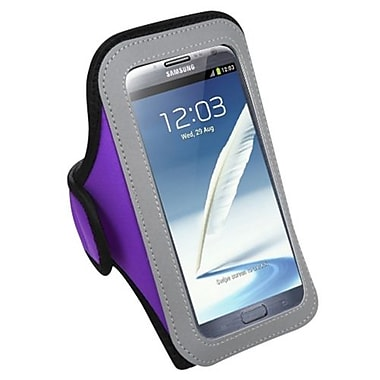 Insten® Vertical Pouch Universal Sport Armband For Samsung I717/T879/Galaxy Note II/T889, Purple