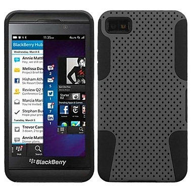Insten® Astronoot Phone Protector Cover For BlackBerry Z10, Grey/Black