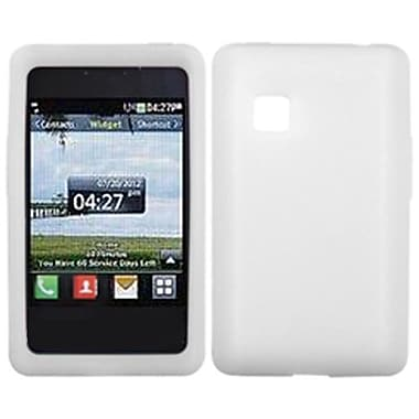 Insten Skin Case For LG 840G, Solid Translucent White (1121031)
