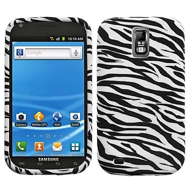 Insten® Candy Skin Cover For Samsung T989 Galaxy S2, Zebra