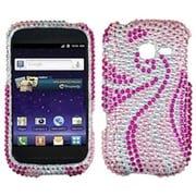 Insten® Diamante Protector Cover For Samsung R480 (Freeform 5); Phoenix Tail