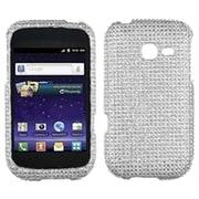 Insten® Diamante Protector Cover For Samsung R480 Freeform 5, Silver