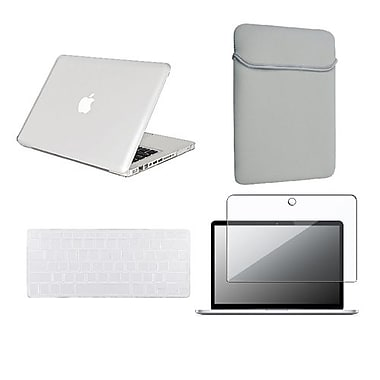 Insten® 4-Piece MacBook Case Bundle For Apple MacBook Pro 13.3