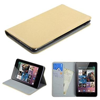 Insten® Premium MyJacket Wallet For Google Nexus 7, White