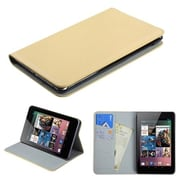 Insten® Premium MyJacket Wallet For Google Nexus 7, White