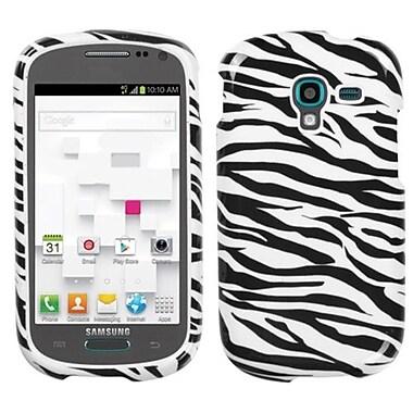 Insten® Phone Protector Cover For Samsung T599 Galaxy Exhibit, Zebra Skin
