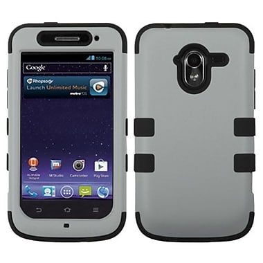 Insten® TUFF Hybrid Protector Cover For ZTE-N9120 Avid 4G, Gray/Black