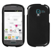 Insten® Phone Protector Cover For Samsung T599 Galaxy Exhibit; Carbon Fiber