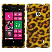 Insten® Phone Protector Cover For Nokia 521, Leopard Skin