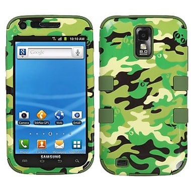 Insten® Hybrid Phone Protector Cover For Samsung T989 Galaxy S2, Green Woodland Camo/Army Green