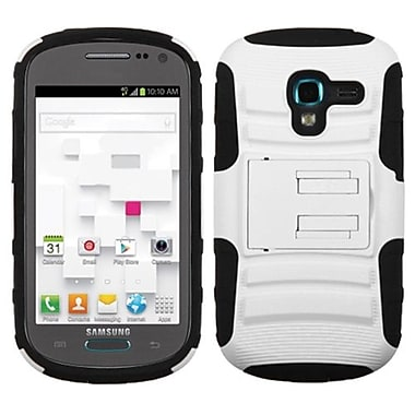 Insten® Advanced Armor Stand Protector Case For Samsung T599 Galaxy Exhibit, White/Black