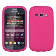 Insten® Solid Skin Cover For Samsung M840, Pink