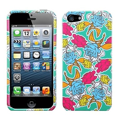 Insten® Phone Protector Cover F/iPhone 5/5S, Rose Garden