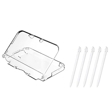 Insten® 1302816 2-Piece Game Case Bundle For Nintendo 3DS XL/LL