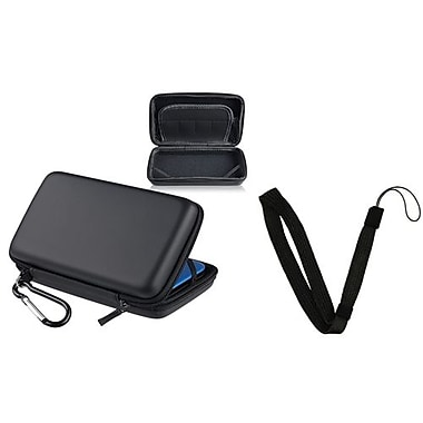 Insten® 1303093 2-Piece Game Case Bundle For Nintendo Wii/DS/DS Lite/PSP 1000/PSP Slim 2000