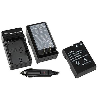 Insten® 1303095 2-Piece DV Battery Bundle For Nikon EN-EL14