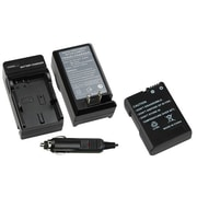 Insten® 1303095 2-Piece DV Battery Bundle For Nikon EN-EL14