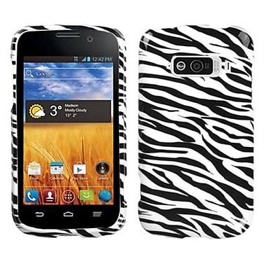 Insten® Skin Protector Cover For ZTE N9101 Imperial, Zebra