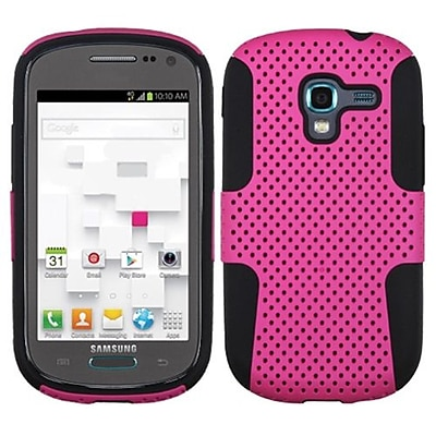 Insten® Astronoot Phone Protector Cover For Samsung T599 Galaxy Exhibit; Hot-Pink/Black