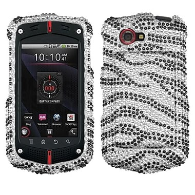 Insten Diamante Protector Cover For Casio C811, Black Zebra (1336992)