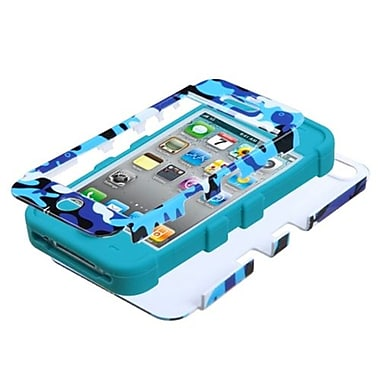 Insten® TUFF Hybrid Phone Protector Covers F/iPhone 4/4S