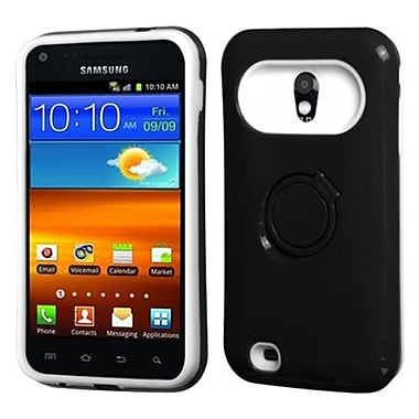 Insten® Back Protector Cover F/Samsung D710, R760, Galaxy S 2 4G, Black/White