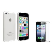 Insten® 1387512 2-Piece iPhone Screen Protector Bundle For iPhone 5/5C/5S