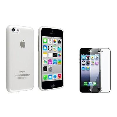 Insten® 1387512 2-Piece iPhone Screen Protector Bundle For iPhone 5/5C/5S