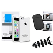 Insten® 1390347 3-Piece iPhone Case Bundle For Apple iPhone 5C